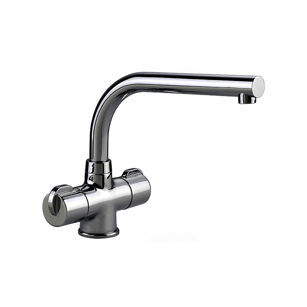 Rangemaster Aquadisc 3 Brushed Stainless Steel Tap